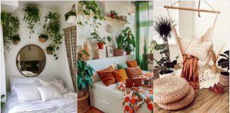 καλοκαιρινή διακόσμηση υπνοδωμάτιο