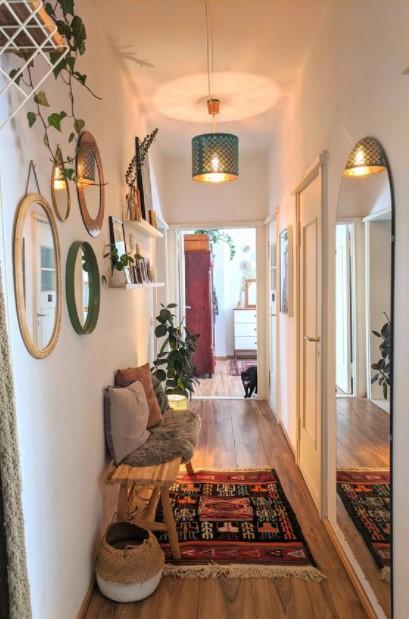 καθρέπτες χολ διακοσμήσεις διάδρομο