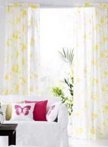 λευκες με κιτρινα λουλουδια