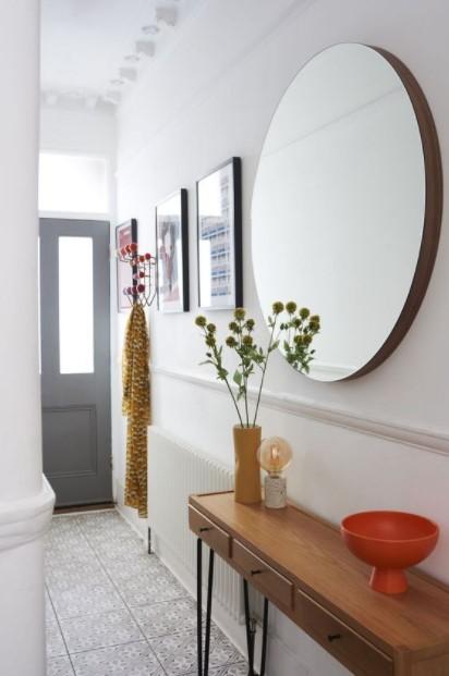 τραπέζι κονσόλα διάδρομος διακοσμήσεις διάδρομο