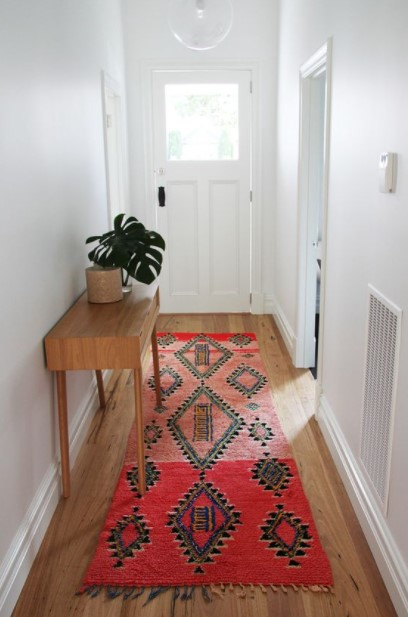 χαλάκι boho χολ διακοσμήσεις διάδρομο