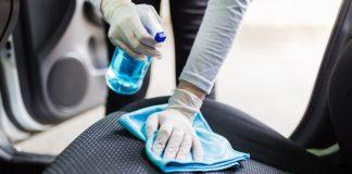 αφαίρεσε λεκέδες από τα καθίσματα αυτοκινήτων