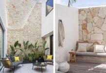 πως να διακοσμήσεις το μπαλκόνι σου με πέτρα, όμορφες ιδέες