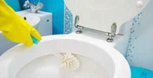 καθαρισμός τουαλέτας