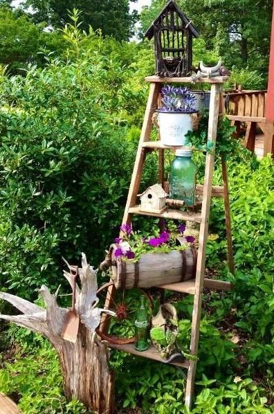 σκάλα κήπο