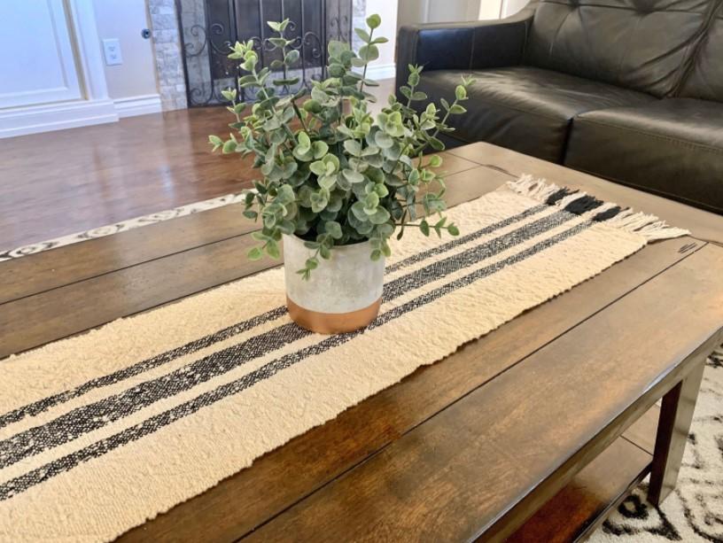 τραπέζι runner φυτό