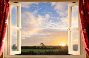 ανοιχτά παράθυρα