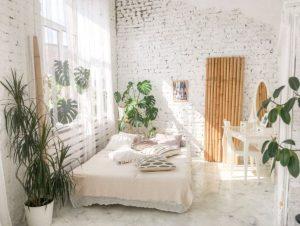 κρεβάτι οφέλη φυτά διακόσμηση