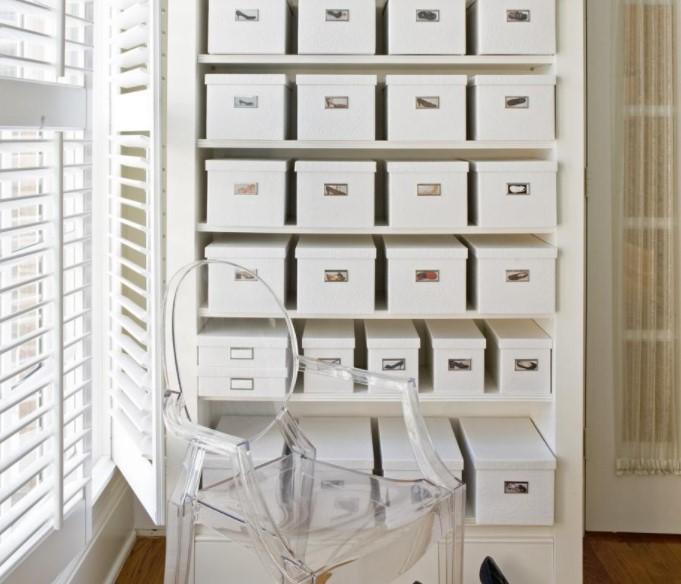 κουτιά αποθήκευσης παπουτσιών με φωτογραφίες