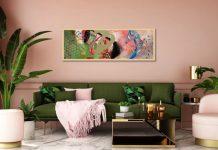 ροζ σαλόνι