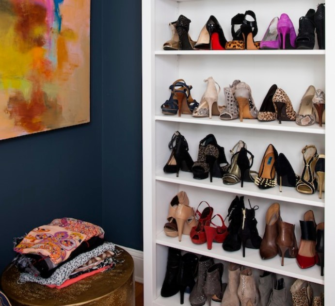 βιβλιοθήκη τρόποι οργάνωσης παπουτσιών