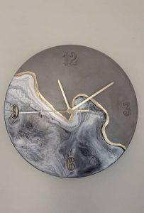 εύκολες κατασκευές ρολόι τοίχου