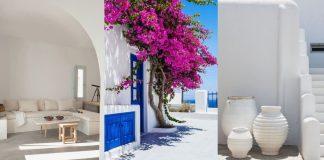διακόσμηση με αύρα απο ελληνικό νησί