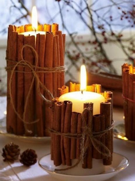 κεριά sticks κανέλας
