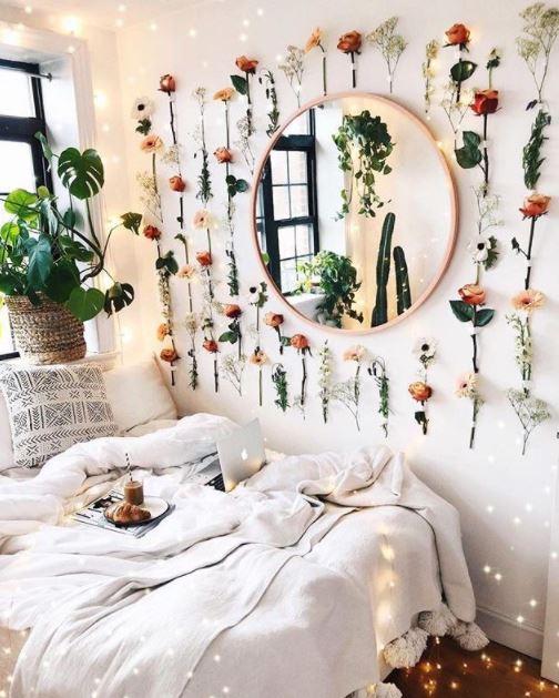 κολλάζ λουλουδιών