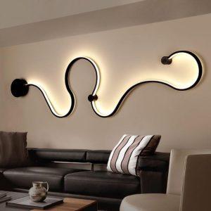 μοντέρνα φωτιστικά τοίχου καθιστικό