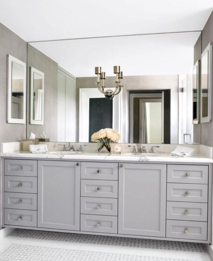 oversize καθρέφτης μπάνιου