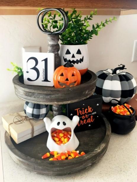 δίσκος διακοσμητικά Halloween