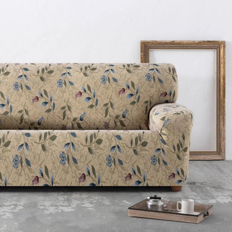 floral καλύματα καναπέ