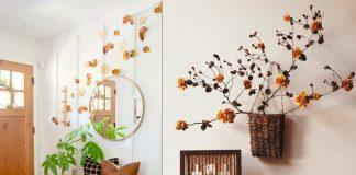 φθινοπωρινή διακόσμηση τοίχου