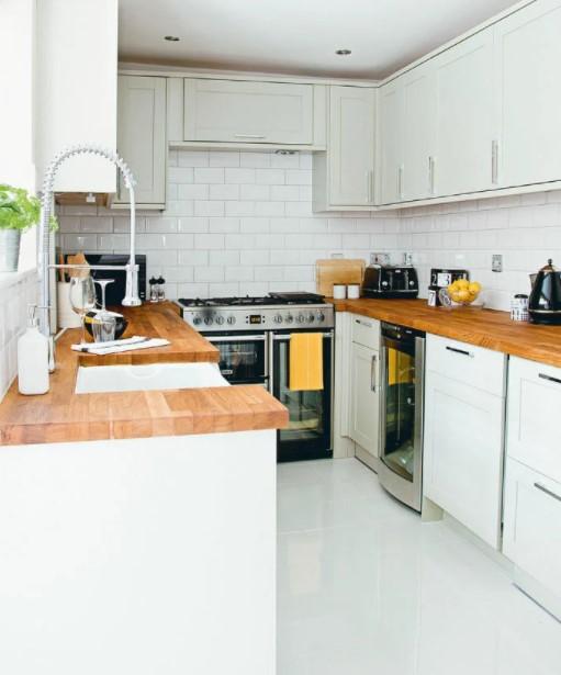 κουζίνα σχήμα Π