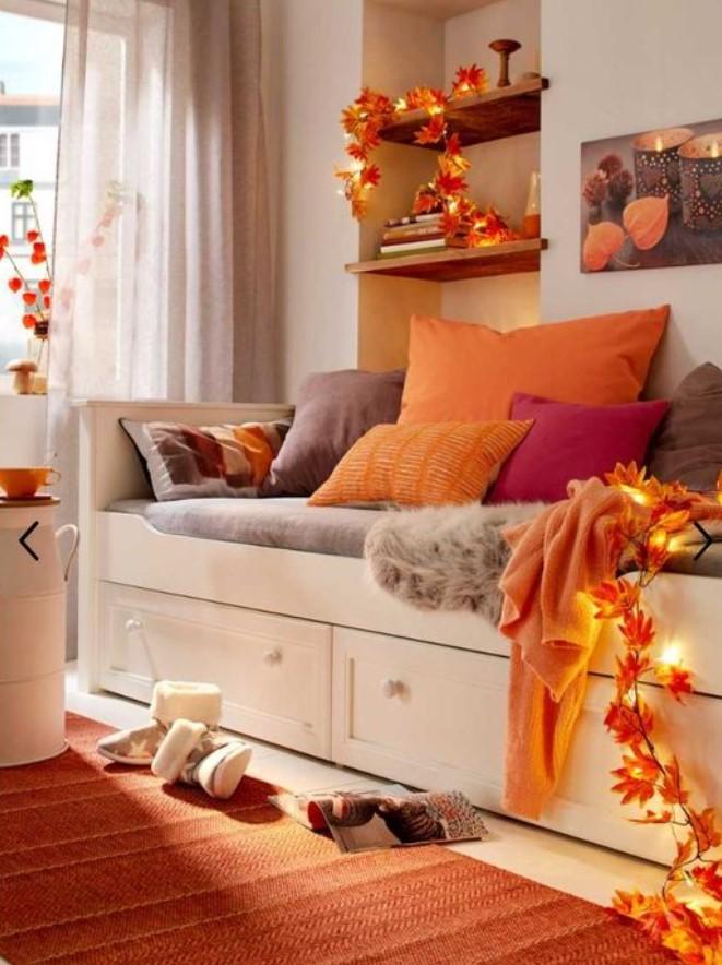 πορτοκαλί διακόσμηση