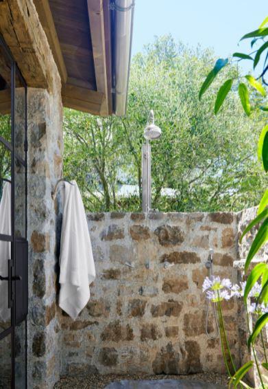 ρουστικ ιδέα ντουζ