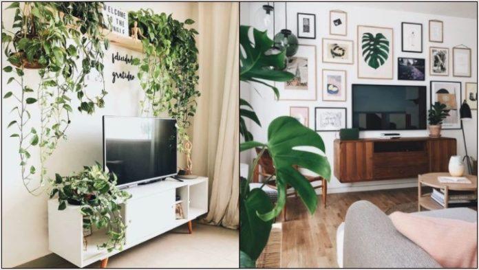 τοίχο τηλεόρασης
