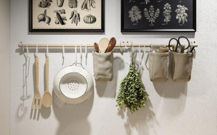 τοίχος κουζίνας ιδέες ΙΚΕΑ ανανεώσουν κουζίνα