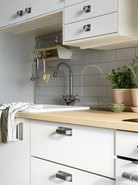 βρύση ντουλάπια κουζίνας ιδέες ΙΚΕΑ ανανεώσουν κουζίνα