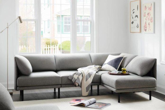 γκρι γωνιακός καναπές συνήθειες χαλάν καναπέ