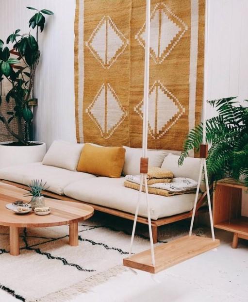 σαλόνι χαλί τοίχοδιακοσμήσεις χαλιά