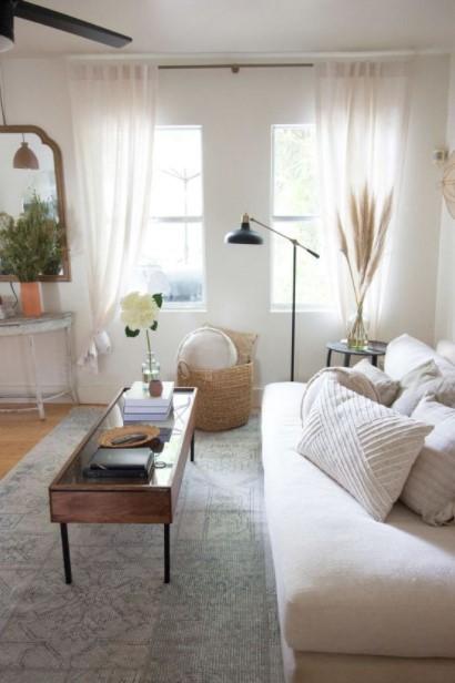σαλόνι λευκό χρώμα